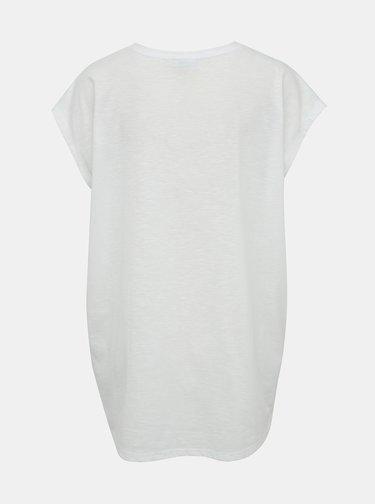 Biele basic tričko Noisy May Mathilde