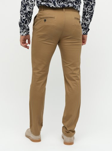 Pantaloni chino maro skinny Burton Menswear London