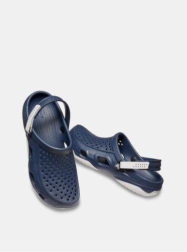 Tmavomodré pánske šľapky Crocs Swiftwater