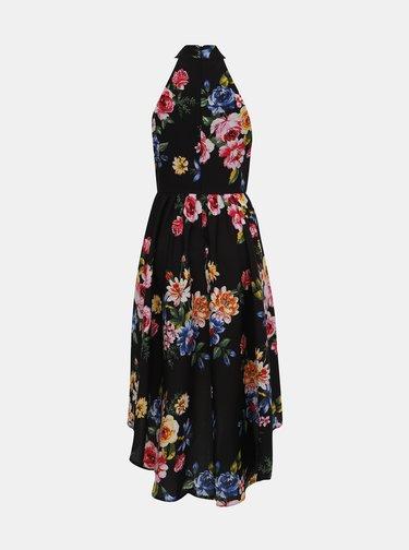 Rochie neagra florala Mela London
