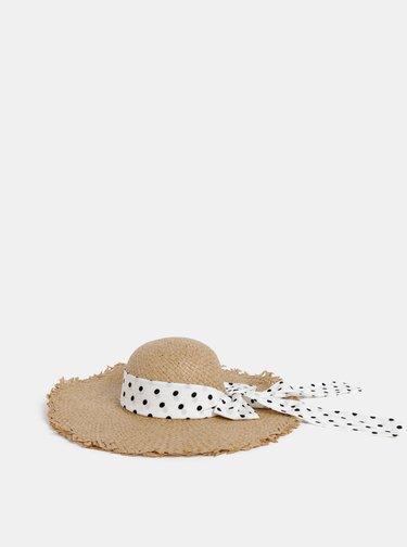 Béžový klobúk ONLY Stinna