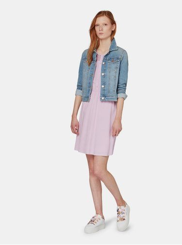 Svetlofialové šaty Tom Tailor Denim