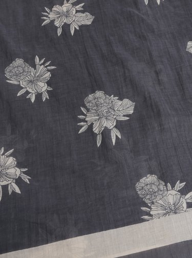 Esarfa gri florala Roxy