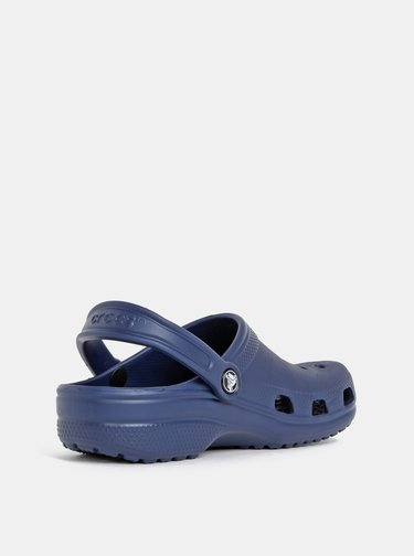 Papuci albastru inchis Crocs Classic Clog