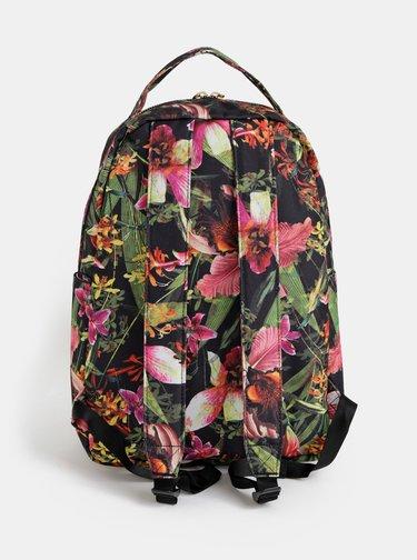 Rucsac verde floral de dama Herschel Supply Nova 18 l