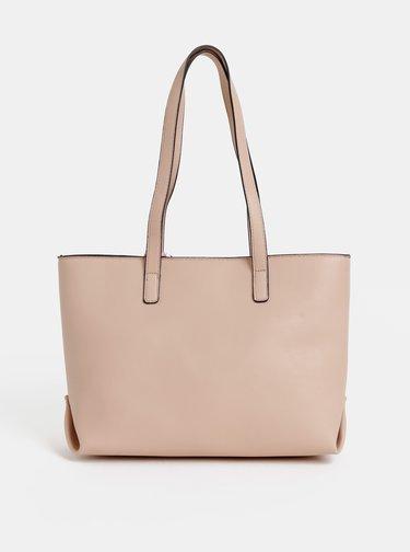 Starorůžová kabelka s šátkem ALDO