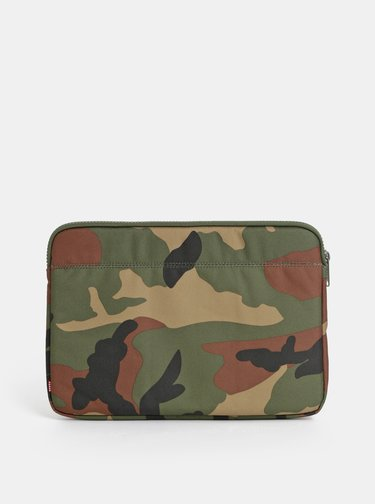"Portofel verde camuflaj pentru laptol Herschel Supply 13"" Anchor"