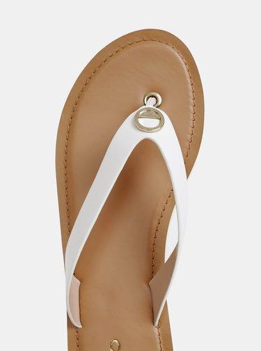 Papuci flip-flop albi de dama ALDO Lascala