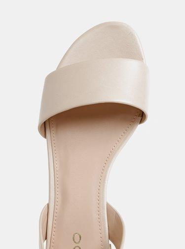 Krémové dámske sandále ALDO Candice