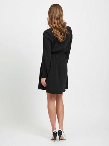 Čierne košeľové šaty VILA Laia