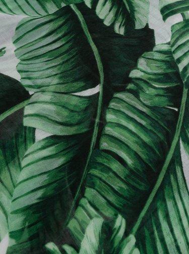 Zelený dámský vzorovaný šátek Haily´s Kimmy