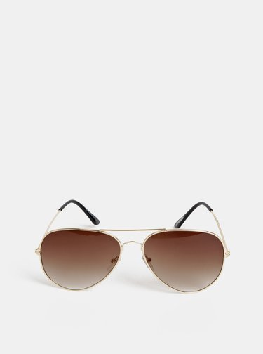 Dámske slnečné okuliare v zlatej farbe Haily´s Sarina