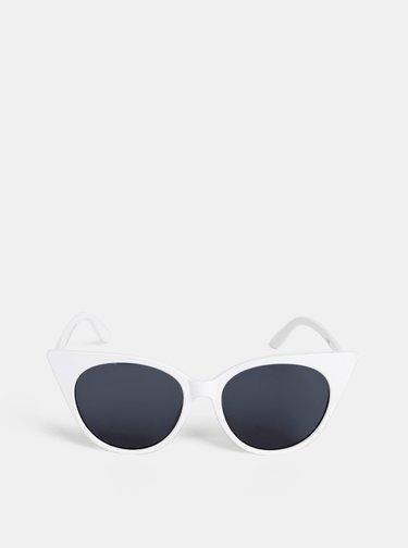 Biele dámske slnečné okuliare Haily´s Melissa