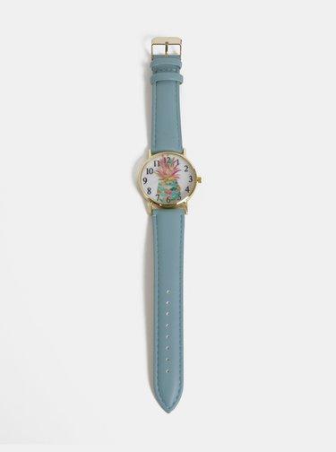 Dámske hodinky s modrým remienkom Haily´s Lilly