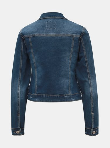 Modrá dámska rifľová bunda Haily´s Enna