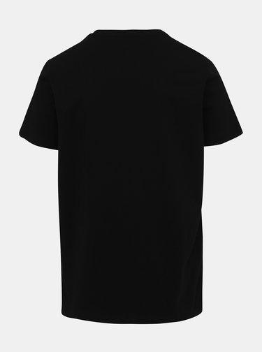 Čierne pánske tričko s potlačou Haily´s Hunter