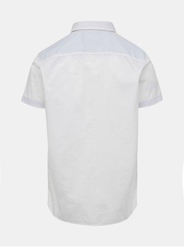 Biela slim fit košile s vreckom Selected Homme Bobby