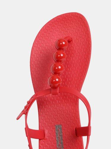 Červené sandále Ipanema Charm