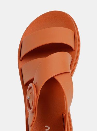 Oranžové sandály Zaxy Street