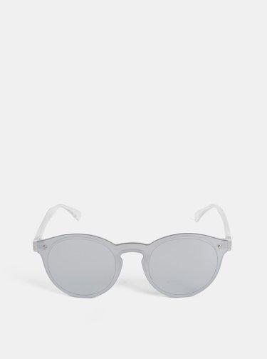 Dámske slnečné okuliare v striebornej farbe CHPO McFly