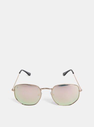 Dámské sluneční brýle v růžovozlaté barvě CHPO Ian