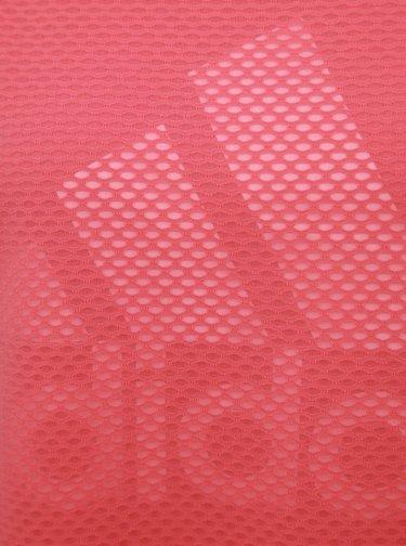 Růžové šaty adidas Performance