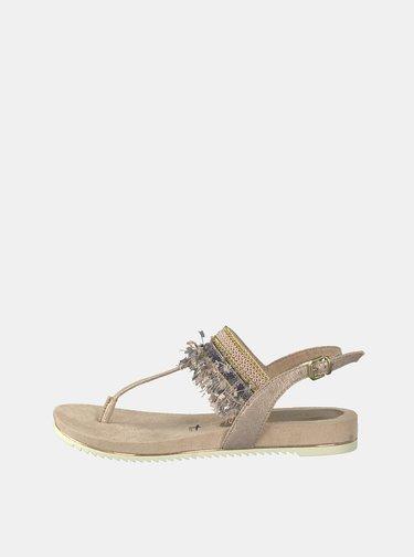 98c2e10c938a7 Strieborné sandálky s kamienkami New Look | ZOOT.sk