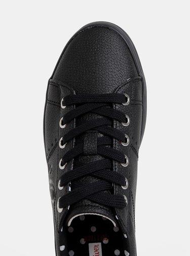 Čierne dámske tenisky s.Oliver