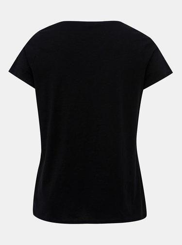 Černé dámské tričko M&Co Plus