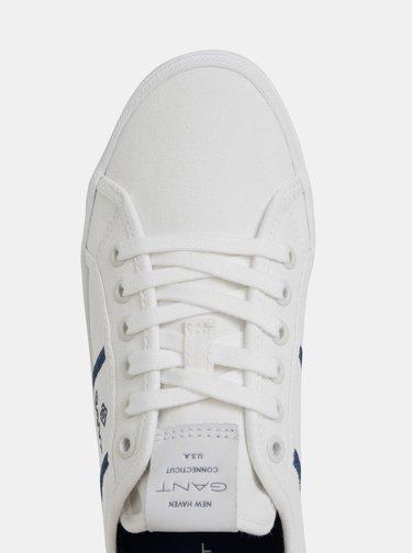 Biele dámske tenisky GANT Zoee