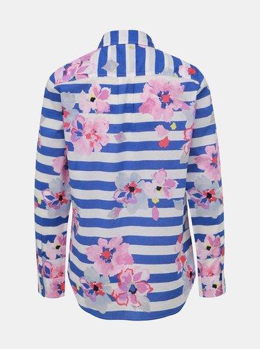 Bílo-modrá dámská vzorovaná košile Tom Joule Lucie
