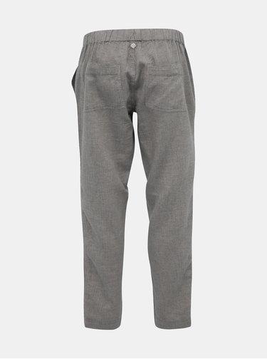 Šedé pruhované nohavice prAna Soledad