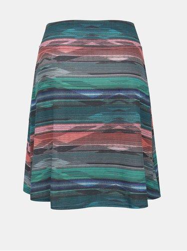 Zelená vzorovaná sukně prAna Fiefer