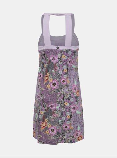 Fialové vzorované šaty prAna Cantine