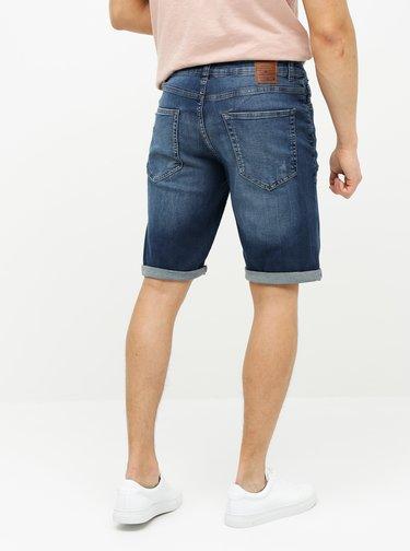 Pantaloni scurti albastru inchis din denim ONLY & SONS Avi