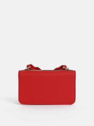 Červená crossbody kabelka Tommy Hilfiger Tommy