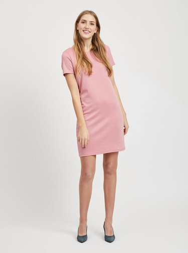 Ružové šaty VILA Tinny