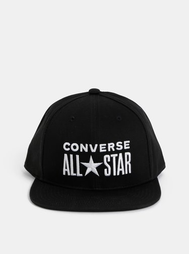 Čierna šiltovka s výšivkou Converse