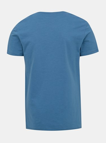 Modré tričko s potiskem Blend