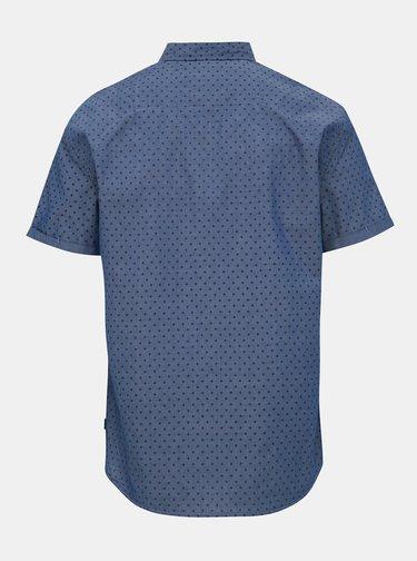 Modrá vzorovaná košeľa Blend