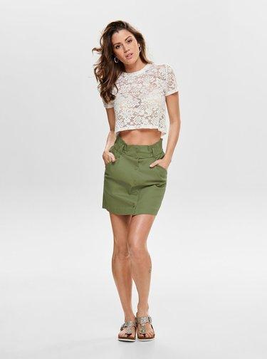 Khaki sukně ONLY Sharon