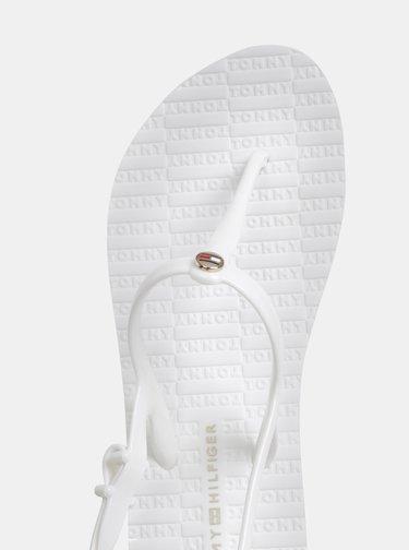Biele dámske sandále Tommy Hilfiger