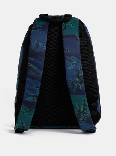 Zeleno-modrý vzorovaný batoh Tommy Hilfiger