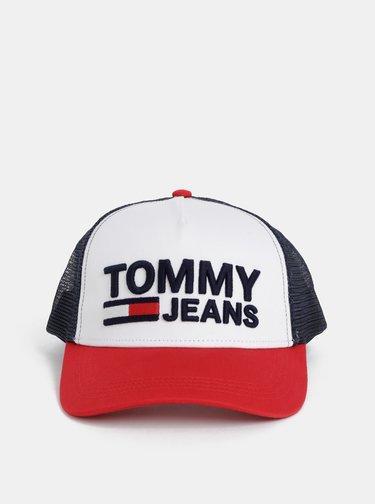 Modro-biela šiltovka s výšivkou Tommy Hilfiger