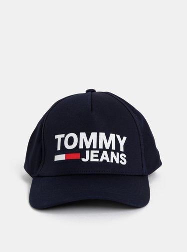 Tmavomodrá šiltovka s potlačou Tommy Hilfiger
