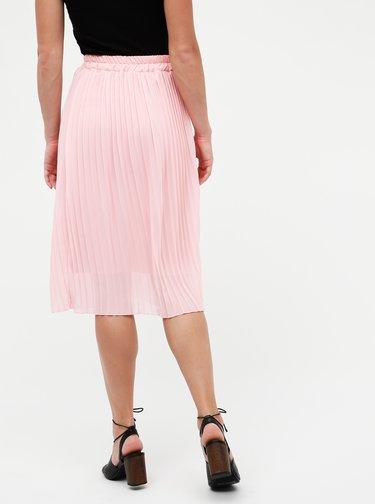 Rúžová plisovaná sukňa Haily´s Lisi