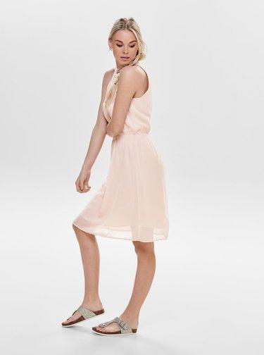 Růžové šaty Jacqueline de Yong Yahana