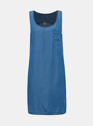 Modré rifľové šaty LOAP Nyxi