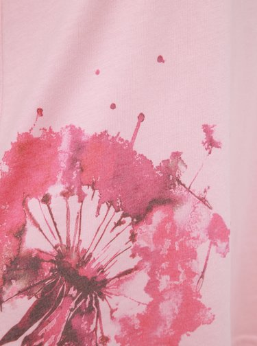 Rúžové dámske tričko LOAP Aliena