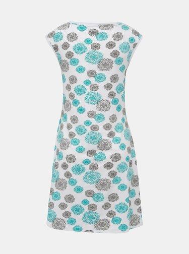 Modro-biele vzorované šaty LOAP Adenka